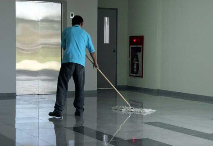 Proyek Cleaning Service DPR. Foto Ilustrasi/IST