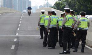 Razia Tilang Oleh Polisi/Foto Ilustrasi/IST