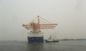 Salah satu unit CC pesanan TPS tampak sedang berlayar menuju TPS. Foto Tri Wahyudi