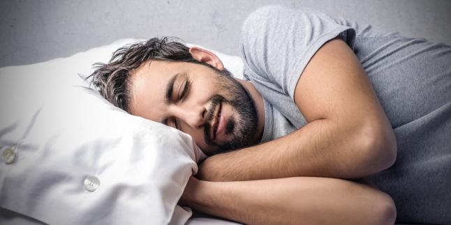 Tidur sendirian. Foto ilustrasi/ist