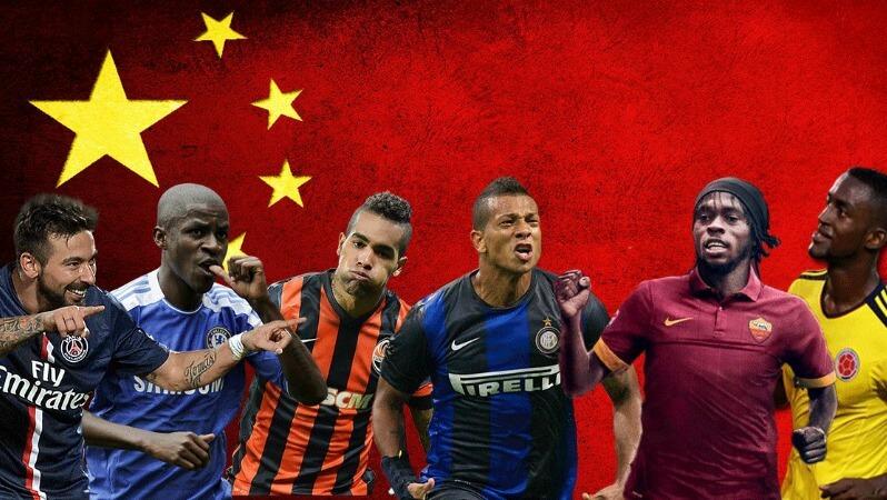 para pemain klub Eropa yang meruput di Liga Super China. Foto via the18.com