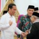 Presiden Joko Widodo menyalami Kyai Ma'ruf Amin/FotoCrop via Vidio.com