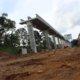Kondisi Terkini Proyek LRT Cibubur-Cawang/Foto Richrard Andika/ NUSANTARAnews