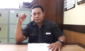 Koordinator AKSI Jatim, Rofik Hardian/Foto Tri Wahyudi