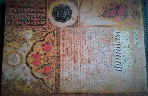 Iluminasi dalam Surat-Surat Melayu Abad ke-18 dan ke-19/Foto: Dok. Tokopedia