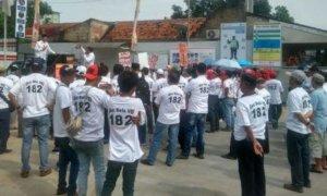 Demo Warga Tolak Pembangunan RS ICM/Foto Dok. Pribadi