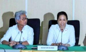 Dirut Pertamina Dwi Soetjipto dan Menteri BUMN Rini Sumarno/Foto: Via Okezone