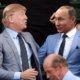 Donald Trump dan Vladimir Putin/Foto via huffpost