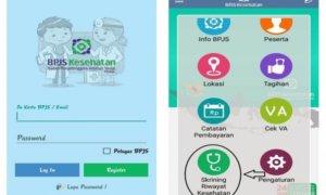Fitur Mobile Screening di Aplikasi BPJS Kesehatan. Foto Istimewa