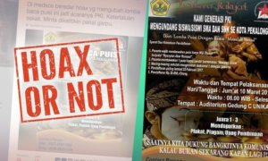 Gambar Poster Undangan Generasi PKI/Foto Istimewa