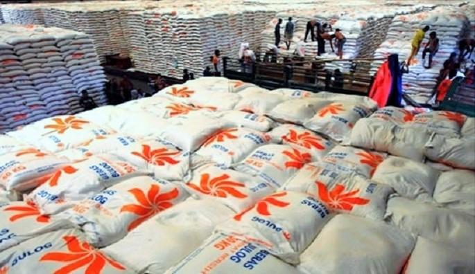 Stok Beras Bulog di dudang/Foto: Dok. Bulog/Nusantaranews