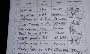Hak Angket Ahok/Foto Deni/Nusantaranews