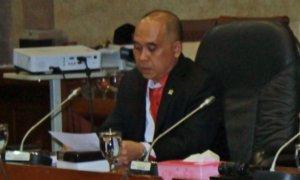Anggota Komisi XI DPR RI, Heri Gunawan/Foto Ahmad Hatiem/ NUSANTARAnews