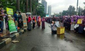 Parade Cosplay Meriahkan Gerakan Menutup Aurat 2017/Foto: Dok. Jurnalis Warga Indonesia