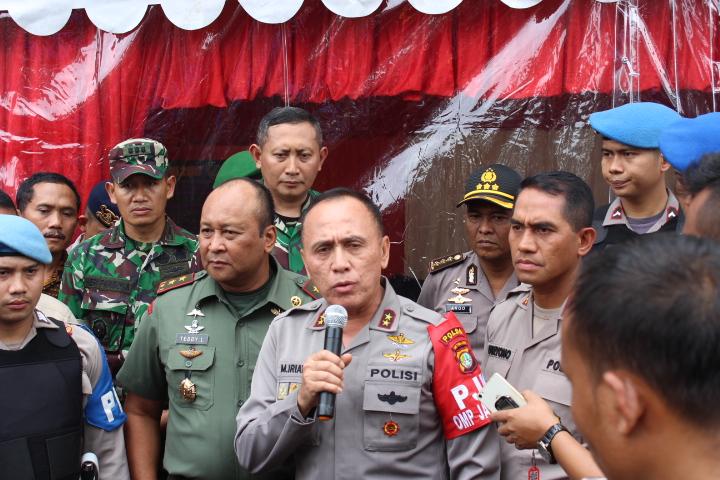 Kapolda Metro Jaya Irjen M Iriawan/Foto Andika/Nusantaranews