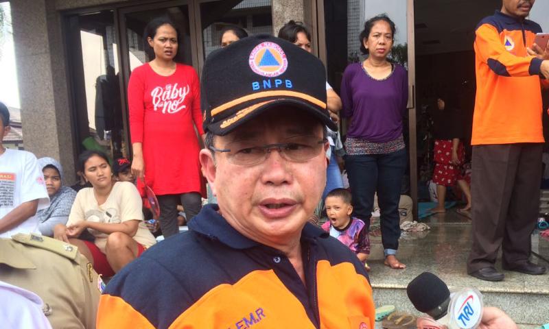 Kepala Badan Nasional Penanggulangan Bencana (BNPB) Willem Rampangilei/Foto Andika/Nusantaranews