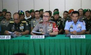 Konferensi Pers Persiapan Pengamanan Pilkada DKI Jakarta/Foto Dok. Pribadi