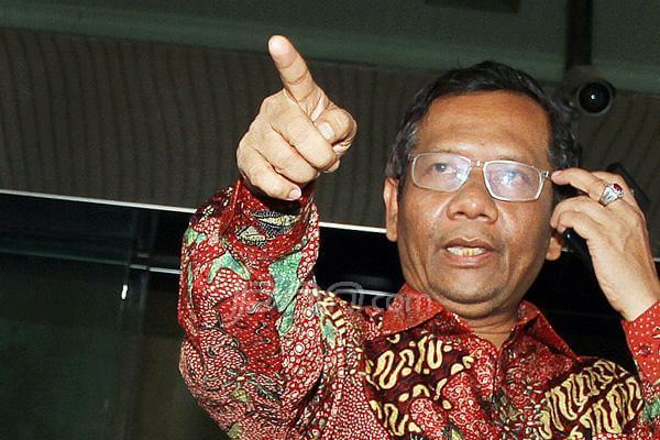 Mantan Ketua MK, Mahfu MD. Foto via Dakwahmedia