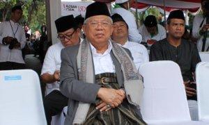 Rais 'Aam PBNU, KH. Ma'ruf Amin/Foto Ahmad Hatim/Nusantaranews
