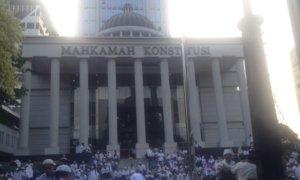 Gedung Mahkamah Konstitusi/Foto Deni Muhtarudin/Nusantaranews