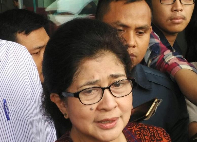 Menteri Kesehatan (Menkes) RI, Nila Djuwita F. Moeloek/Foto Fadilah/Nusantaranews