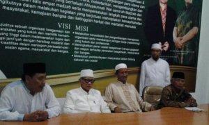 Para Pengurus Wilayah Nahdlatul Ulama Jawa Timur/Foto Tri Wahyudi/Nusantaranews
