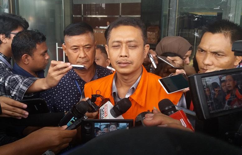Pejabat Direktorat Jenderal Pajak Kementerian Keuangan, Handang Soekarno/Foto Fadilah/Nusantaranews