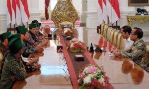 Presiden Jokowi Sambut PB HMI/Foto via @Jokowi