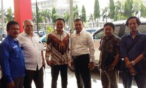 Presiden Sarbumusi Saiful Bahri Ahshri Bersama Kapolda Riau/Foto Dok. Pribadi/Nusantaranews