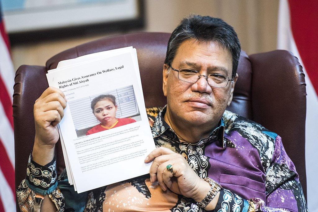 Siti Aisyah Diduga Ikut Melakukan Pembunuhan Terhadap Saudara Tiri Presiden Korut Kim Jong-un di Malaysia/Foto via metro