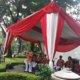 Datang ke TPS Taman Suropati, Mantan Plt Gubernur DKI Nyanyi Lagu 'Indonesia Pusaka'/Foto Restu Fadilah / NUSANTARAnews