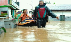 Tim Evakuasi Bantu Banjir Jakarta/Foto Dok. Pribadi