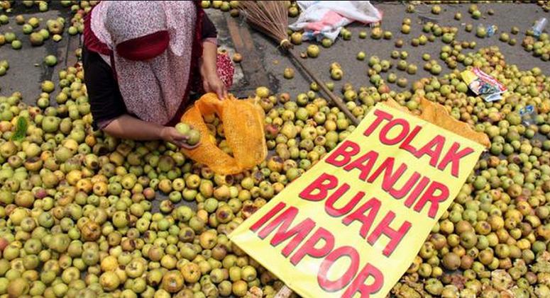 Tolak Buah Impor/Foto via indobarian