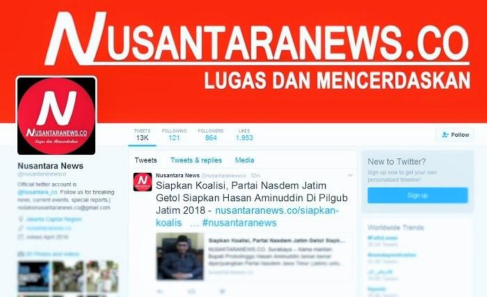 Twitter @nusantaranewsco / Ilustrasi: NUSANTARAnews
