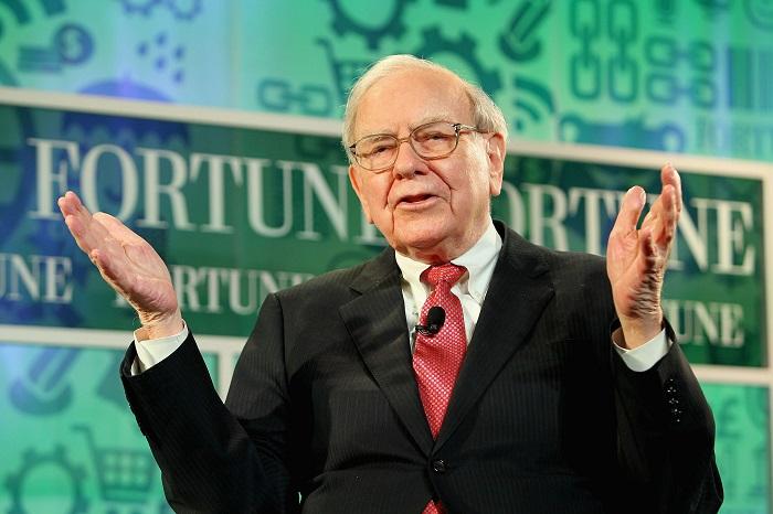 Pendiri Berkshire Hathaway, Warren Buffet/Foto: Dok. bomb.am