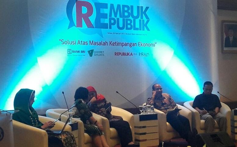 diskusi publik Solusi Atasi Ketimpangan Sosial dan Ekonomi/Foto Dok. Pribadi