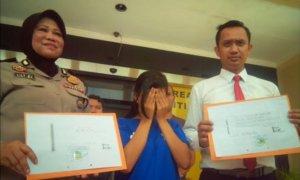 Pelaku Investasi Bodong Rp 1,8 Miliar Ditangkap Polrestabes Surabaya/Foto Tri Wahyudi