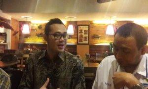 koordinator MMD Jatim Bayu Airlangga Putra/Foto Tri Wahyudi/Nusantaranews