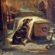 The Old Shepherd's Chief Mourner-Edwin Landseer 1837/Foto: Dok. Psychology Today