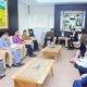 Pertemuan Menteri Perindustrian Airlangga Hartarto dengan Direktur South Asia Apple Michel Coulomb di Jakarta, Kamis (30/3/2017). Foto: Dok. Humas Kemenperin