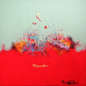 Lukisan Gunung Rinjani by Nathalie Guerra | Celeste Prize