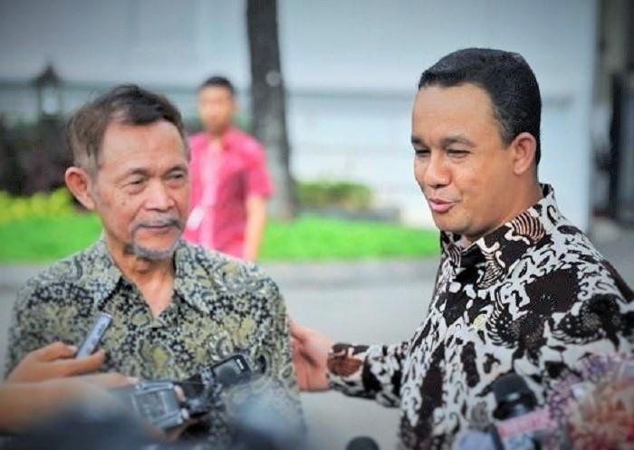 Goenawan Mohamad dan Anies Baswedan/Foto: Dok. Antara Photo