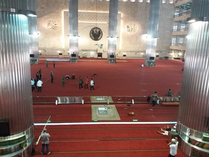 Polisi Turunkan 400 Personel Amankan Kunjungan Raja Salman ke Masjid Istiqlal/Foto Restu Fadilah / NUSANTARAnews.co