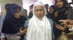 Wanita Penyusup Diamankan Satu Jam Sebelum Raja Salman Tiba di Masjid Istiqlal/Foto Restu Fadilah / NUSANTARAnews