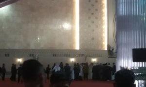 Gema Solawat Mengiringi Kedatangan Raja Salman di Masjid Istiqlal/Foto Restu Fadilah / NUSANTARAnews