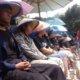 Sebab Tak Semua Butuh Semen, Aktivis LMND Ikut Cor Kaki/Foto: Dok. LMND
