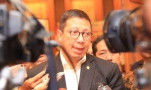 Menag Lukman Hakim memberikan keterangan pers usai membuka Launching Laptah Kehidupan Keagamaan di Indonesia Tahun 2016/Foto: Dok. Kemenag /Arief