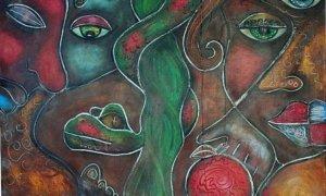 Adam & Eve by Laura Barbosa | ebsqart.com