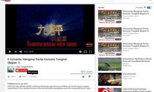 9 Komentar Mengenai Partai Komunis/Foto: YouTube/Crop by NUSANTARAnews