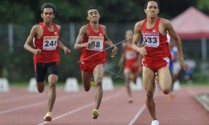 Atlet Lari Indonesia/Foto via antara
